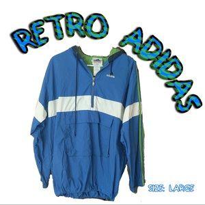 Retro Adidas Windbreaker